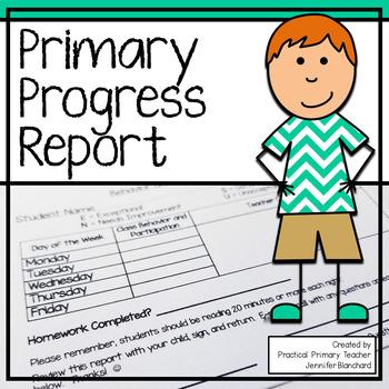 Primary Progress Report