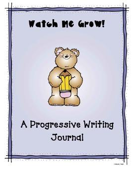 Primary Progressive Writing Journal - Watch Me Grow!