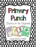 Primary Punch {Posters for the Classroom}
