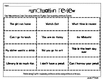 Primary Punctuation Sort
