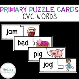 Primary Puzzle Cards CVC Words