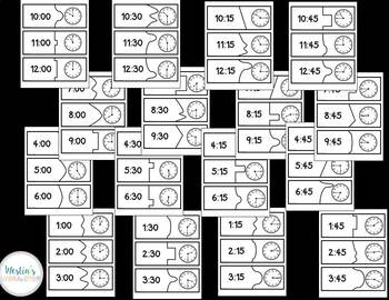 Primary Puzzle Cards Math BUNDLE