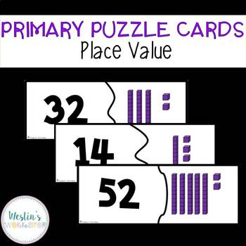 Primary Puzzle Cards Place Value