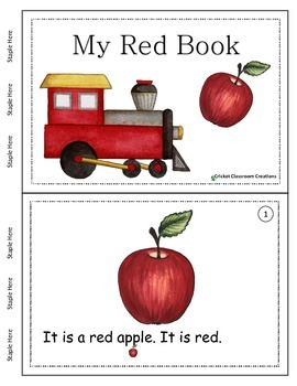 Primary Reading - Color Words