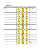 Primary Reading Log Chart