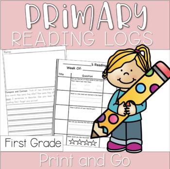 Primary Reading Response Logs