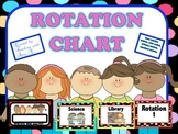 Primary Reading Rotation Chart (w/Centers, Standards, Read