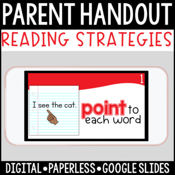 Primary Reading Strategies: A Paperless Digital Parent Handout