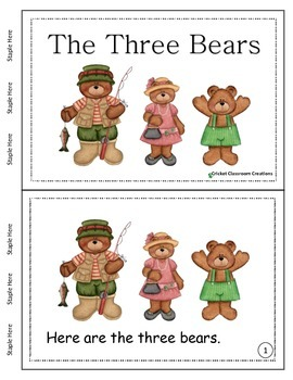 Primary Reading - The Three Bears