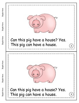 Primary Reading - The Three Pigs