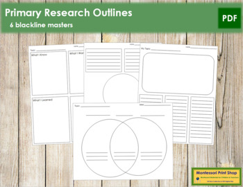 Primary Research Outlines