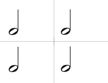 Primary Rhythm Cards