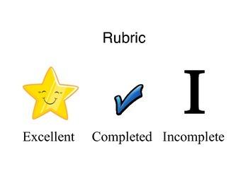 Primary Rubric