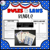 Primary Rules and Laws Activity Bundle