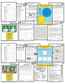 Primary School Language Arts Bundle Gr. PK-2