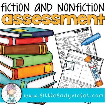 Fiction Nonfiction Assessment Printable