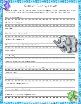 Primary School Memory and End of Year Activity Book