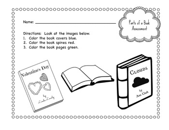 primary school parts of a book worksheet bundle by violet tabitha. Black Bedroom Furniture Sets. Home Design Ideas