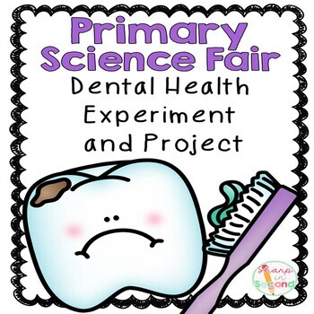 Primary Science Fair Project - Dental Health Experiment with Eggs