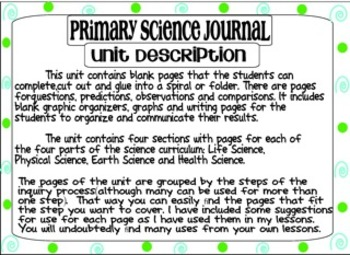 Primary Science Journal