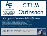 Primary Sea Animal Classification