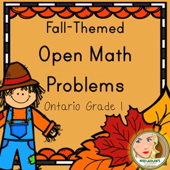 Primary Seasonal Open Math Problems - Fall/Autumn - Ontari