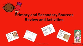 Primary & Secondary Source Unit