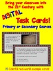 Primary & Secondary Sources DIGITAL Task Card Set (upper elementary)