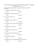 Primary / Secondary Sources Quiz