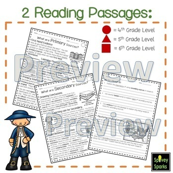 Primary & Secondary Sources Sort