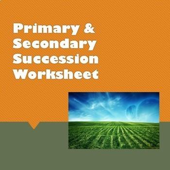 Primary & Secondary Succession