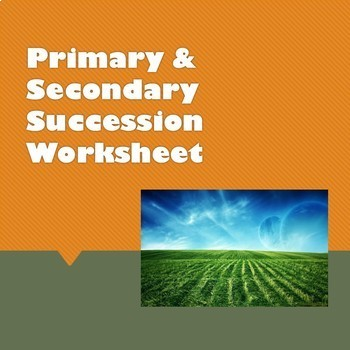 Primary & Secondary Succession