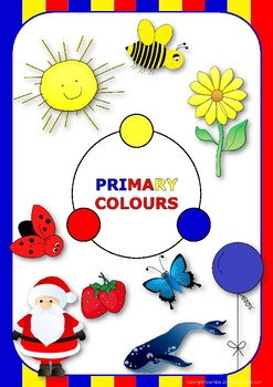 Primary, Secondary and Tertiary Colours/Colors Posters and Art Activity
