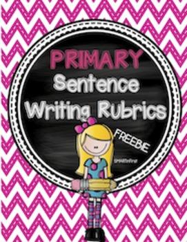 Primary Sentence Writing Rubrics