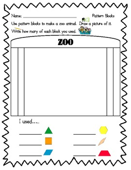 Primary Shapes Activity Pack