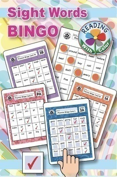 Primary Sight Words Bingo MEGA BUNDLE: 14 Digital & Print Games