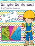 Primary - Simple Sentences:Construct a Sentence