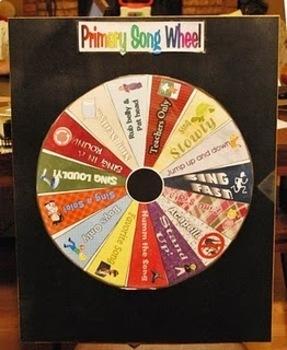 Primary Singing Wheels