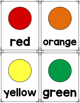 Primary Skill Flashcards - Number, Letters, Shapes, Colors