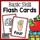 Primary Skill Flash Cards - Number, Letters, Shapes, Colors