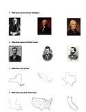 Primary Social Studies Quiz or Test - U.S. Symbols