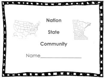 Nation, State, Community Unit! (Minnesota Specific!)