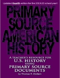 Primary Source American History - Expanded 3rd Edition (2018-19)