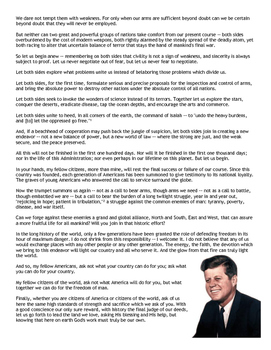 """Reading: """"Kennedy's Inaugural Address"""" (w/ Primary Source Analysis Sheet)"""
