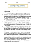 Primary Source Analysis - Texts by Columbus and Las Casas