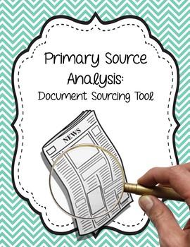 Primary Source Analysis Tool