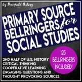 US History Bell Ringers 2nd Half Primary Sources Document Based Questions