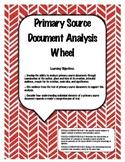 Primary Source Document Analysis Wheel