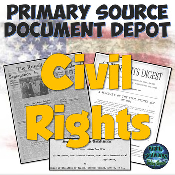 Primary Source Document Depot: Civil Rights