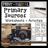 Primary Source Documents - Activities and Worksheets